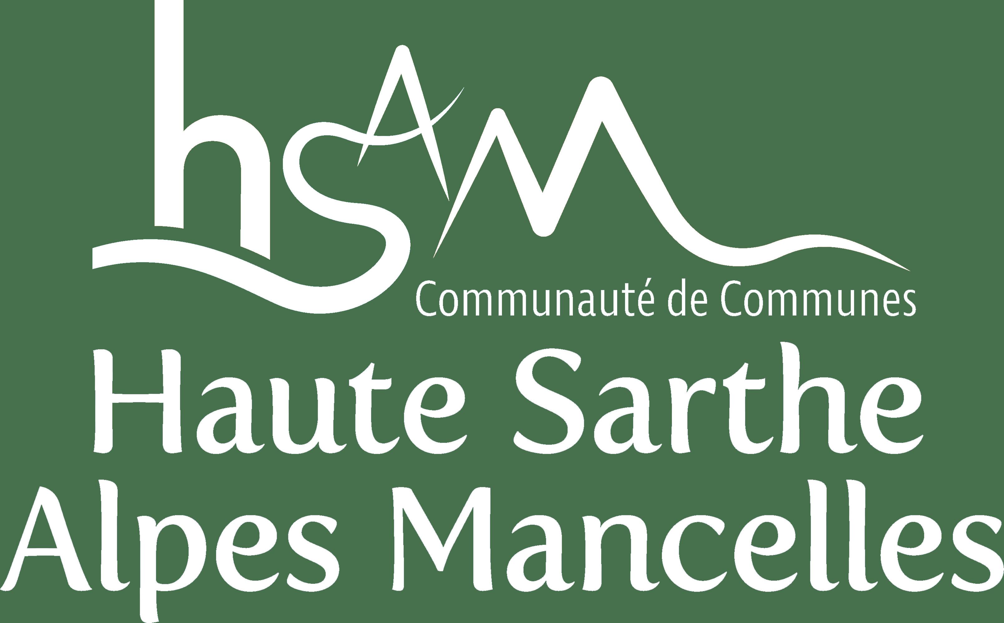 Logo Haute Sarthes Alpes Mancelles