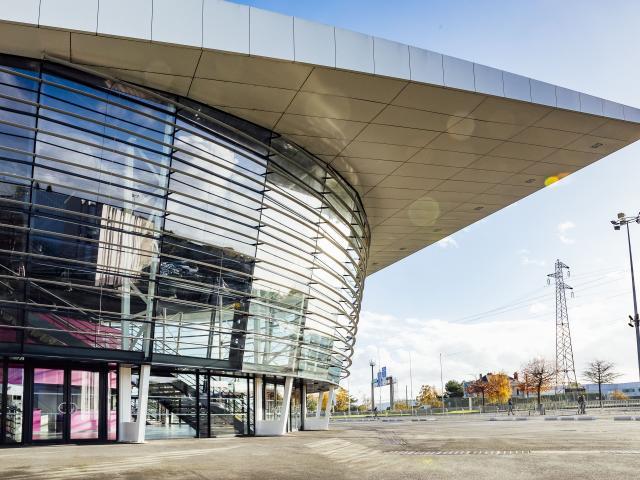 façade parc des expositions