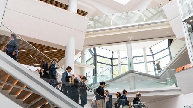 escaliers évènement centre de congrès