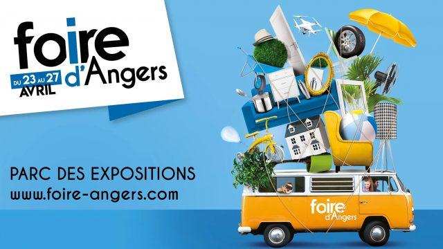 Affiche Foire Angers