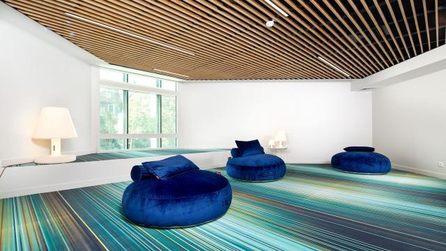 Salle Lounge du Centre de Congrès