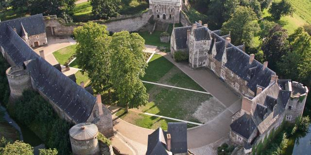 Chateau du plessis macé d'Angers