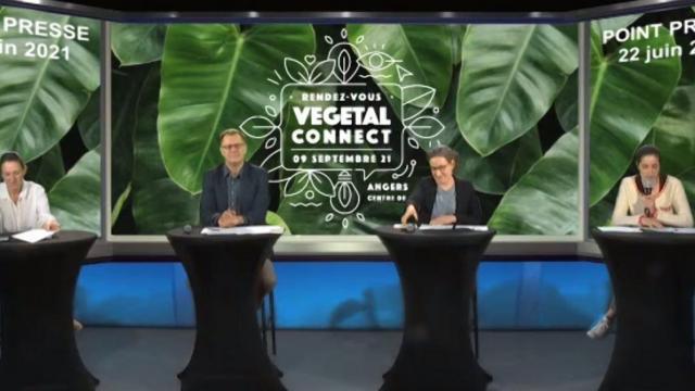 Conférence de presse Vegetal Connect