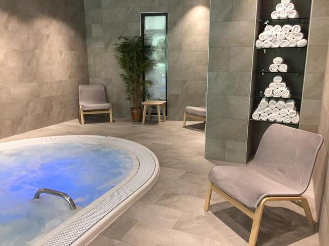 SPA Thermal Allevard-les-Bains jaccuzi