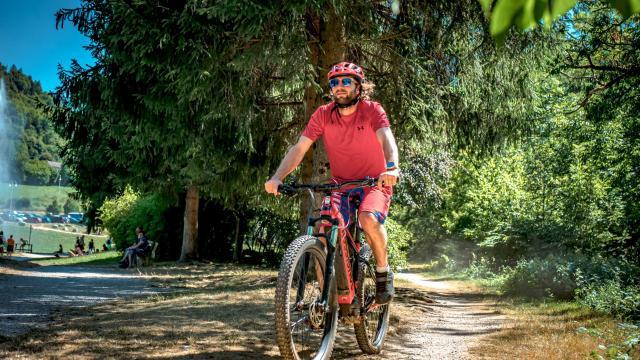 Balade en vélo électrique Allevard-les-Bains