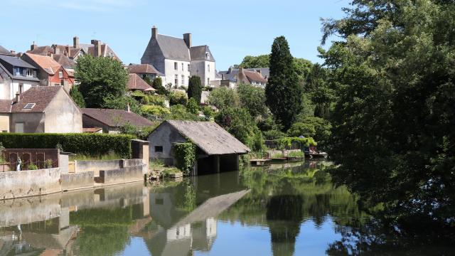 Lavoir à Beaumont-sur-Sarthe