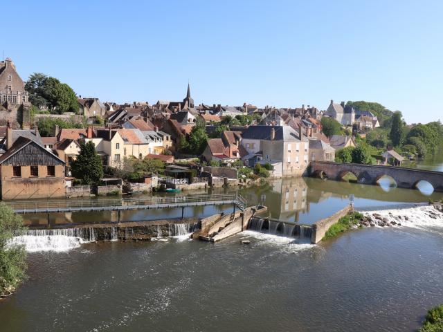 Panorama de Beaumont-sur-Sarthe