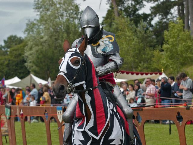 Chevalier à la Fête Médiévale de Bourg le Roi
