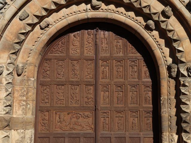 Portail de l'Église Notre-Dame de Fresnay-sur-Sarthe