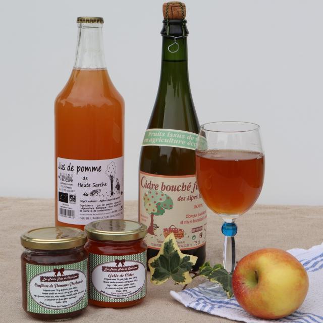 Produits locaux des Alpes Mancelles