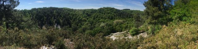 Vue panoramique sur la Vallée de Misère