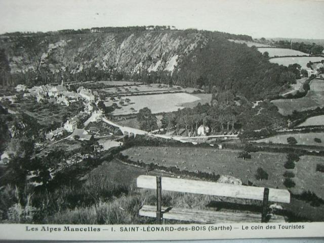 Carte postale ancienne - Saint-Léonard-des-Bois