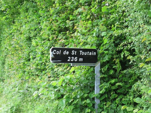 Le col de Saint-Toutain