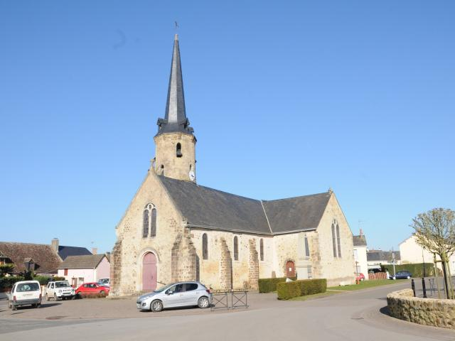 L'église de Saint-Ouen-de-Mimbré
