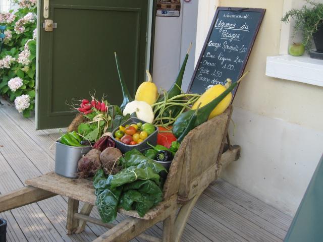 Légumes du potage du Domaine du Gasseau