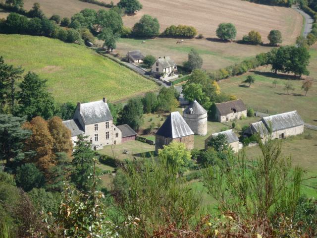 Le Manoir de l'Inthe à Saint-Léonard-des-Bois