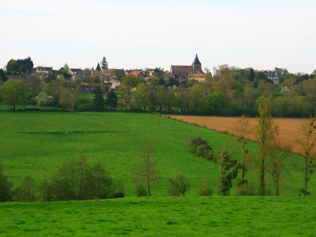Panorama sur Saint-Christophe-du-Jambet
