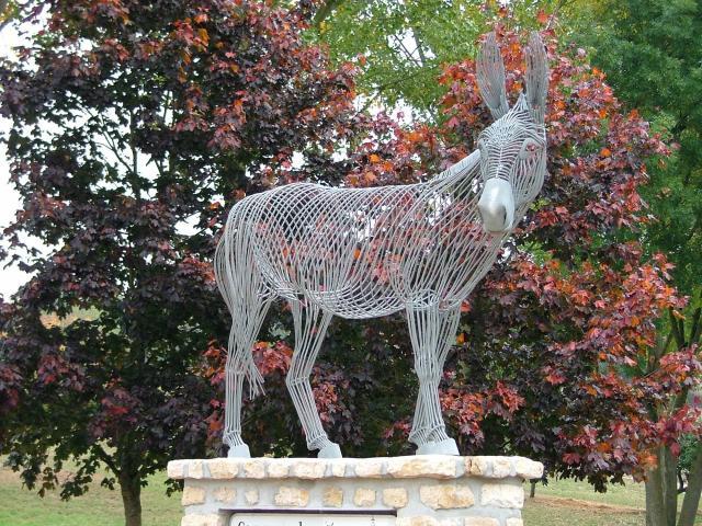 Statue de l'âne de Chérisay
