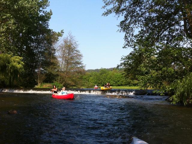 Kayak à Saint-Léonard-des-Bois