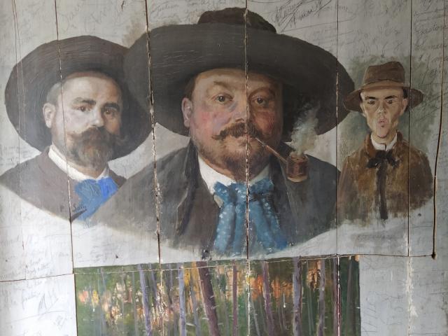 Auberge des Peintres à Saint-Céneri-le-Gérei