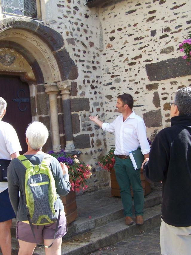 Visite à Saint-Léonard-des-Bois