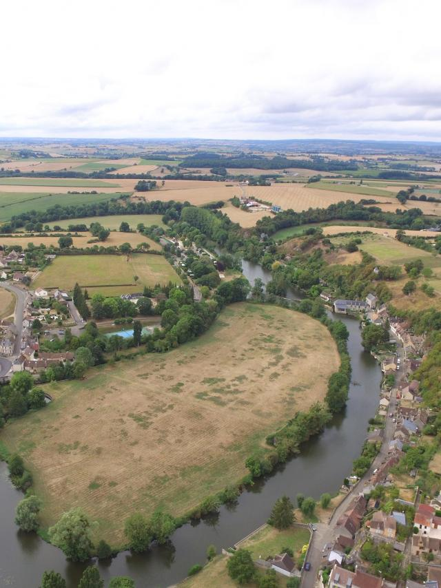 Vue de Fresnay-sur-Sarthe