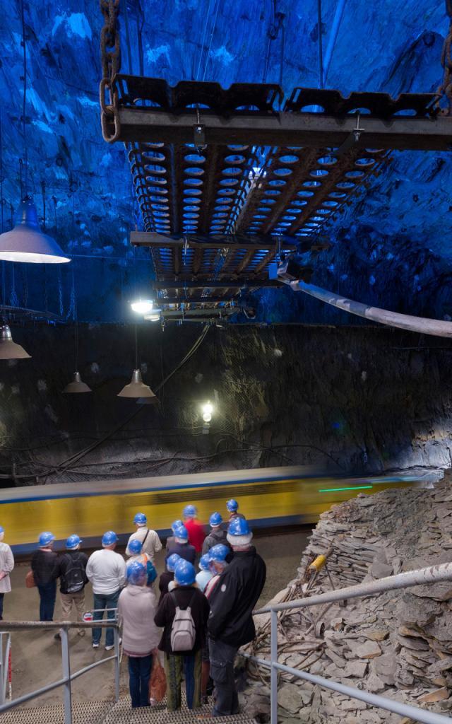 La Mine Bleue, 10 septembre 2015