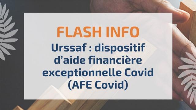 Urssaf Dispositif Daide Financière Exceptionnelle Covid Afe Covid 1