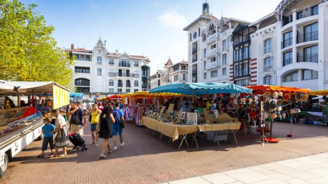 Marché - Place des Marquises