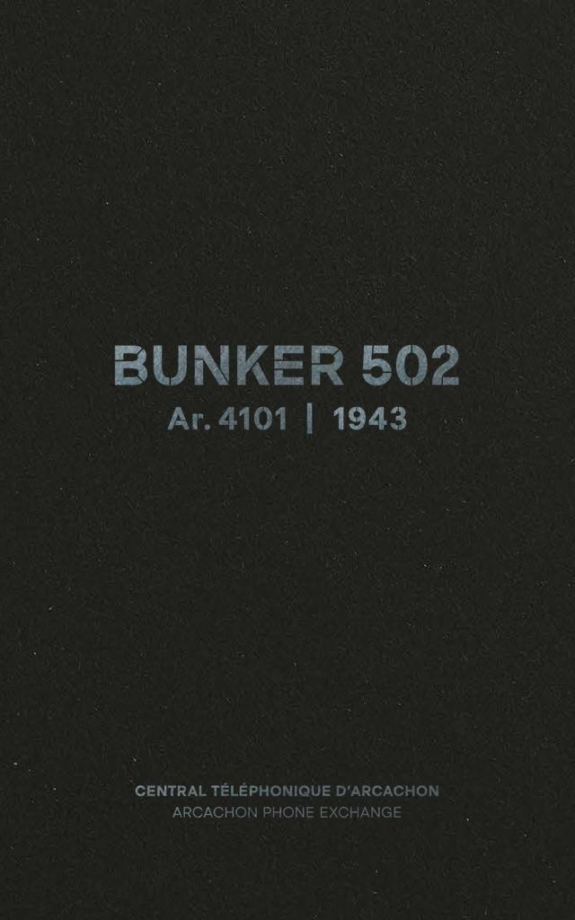 Livret Bunker Couverture