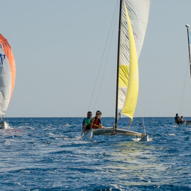 Cours Individuels En Catamaran Argeles Sur Mer