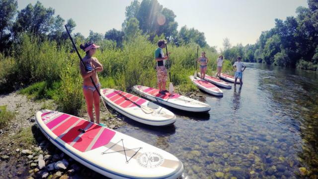 Descente rivière Stand-up Paddle Argelès