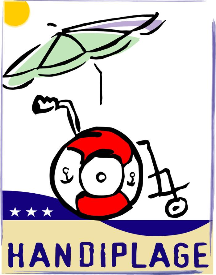 Logo Handiplage 700x889