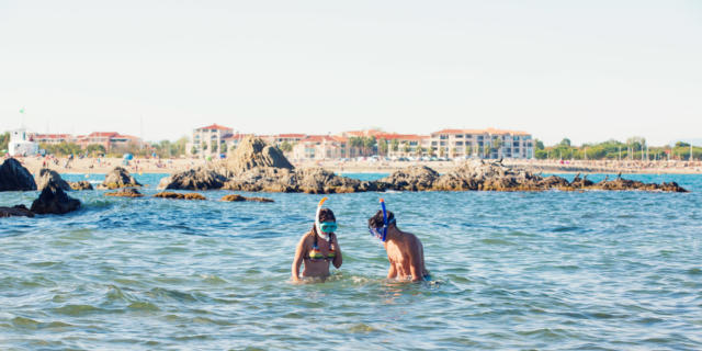 Snorkeling Palmes Tuba Argeles Garnements (2)