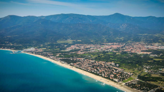 Vue Aerienne Argeles G.rossini