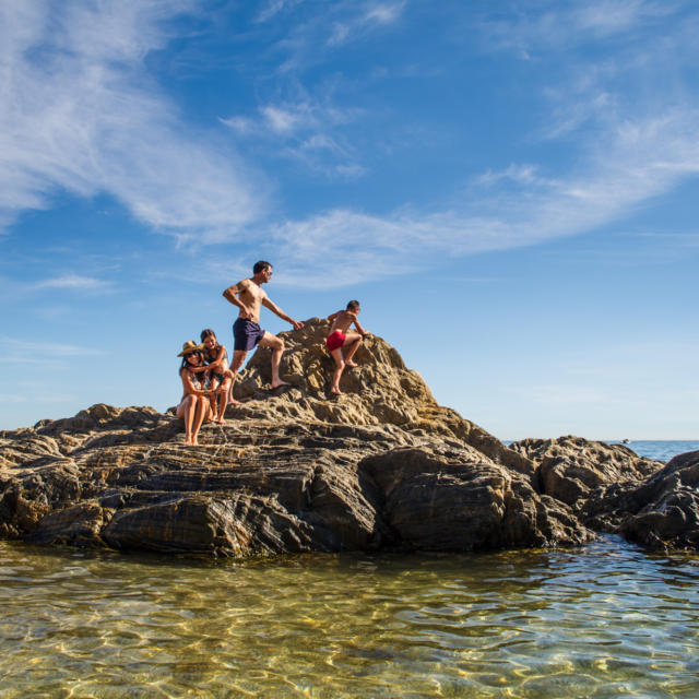 Famille Plage Racou Argeles L.lacombe