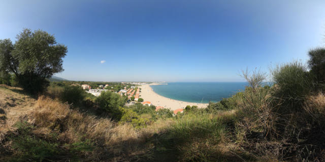 Vue Racou Pano Argeles Interaview