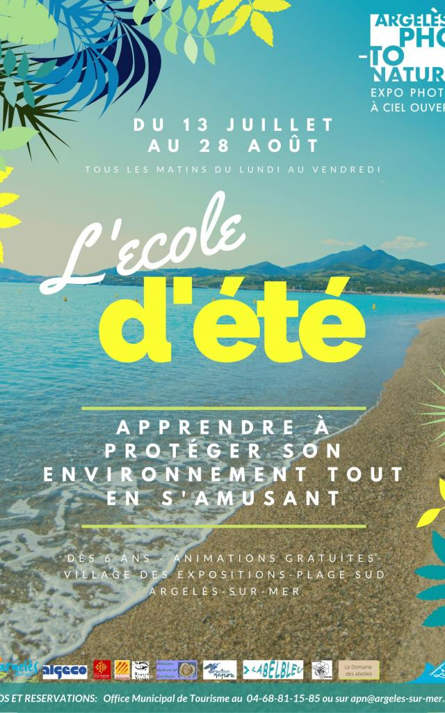 L Ecole D Ete Argeles Photo Nature 2020