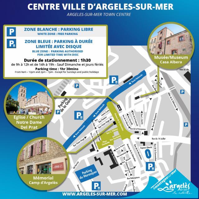 Disque Stationnement Argeles