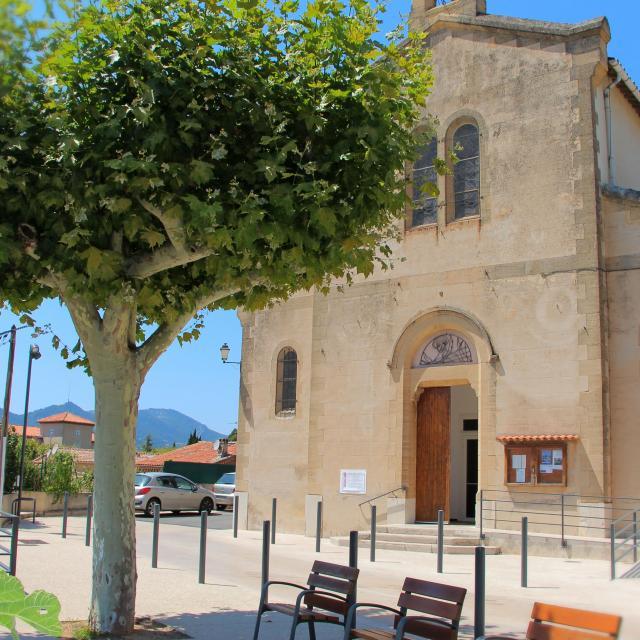 Eglise Place La Bouilladisse Oti Aubagne