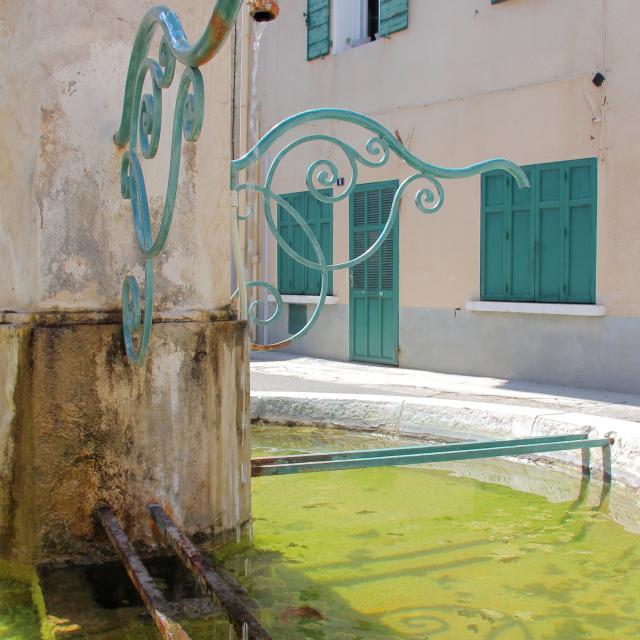 Fontaine Place Cadolive Oti Aubagne