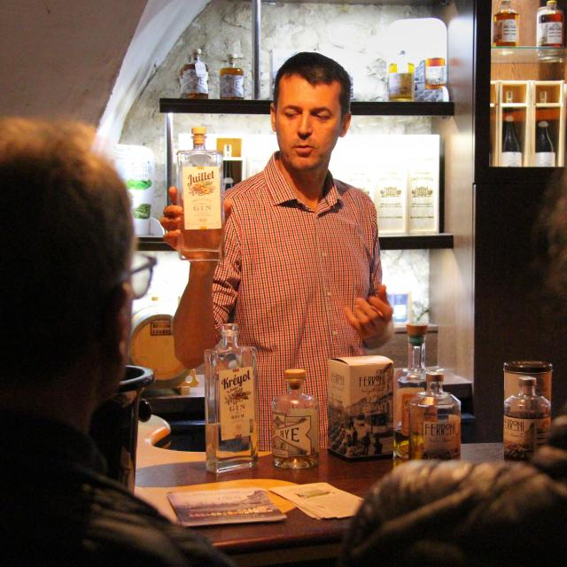 Gin Juillet Maison Ferroni Oti Aubagne
