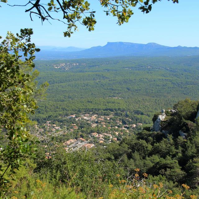 Nature Colline Saint Savournin Oti Aubagne