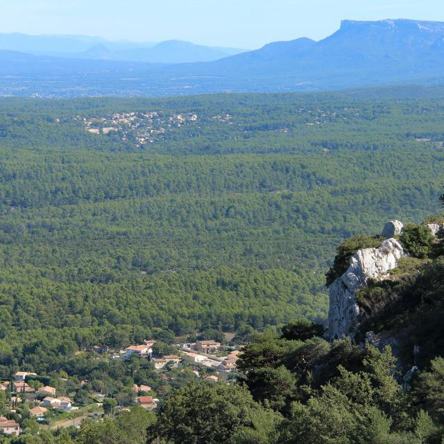 Nature Collines Saint Savournin Oti Aubagne