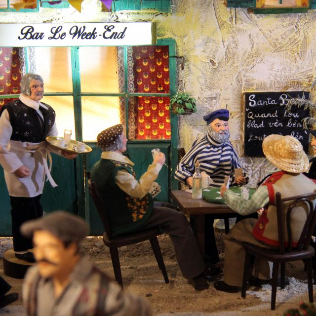 Bar Provencal Cartes Village Des Santons Musee Aubagne Oti Aubagne