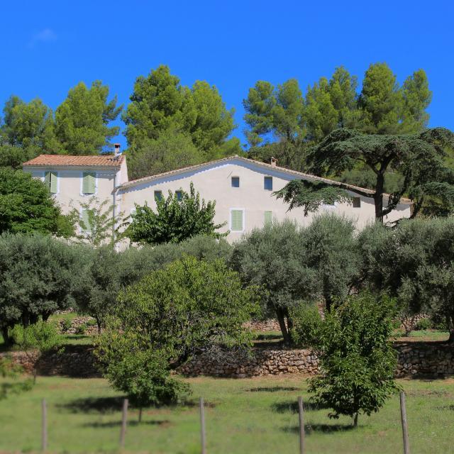 Bastide Provencale Nature Domaine De La Font De Mai Oti Aubagne