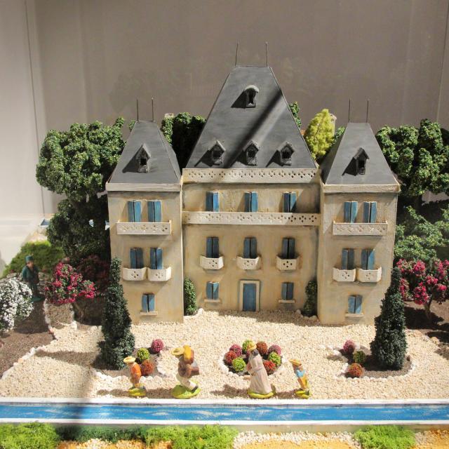 Chateau De Ma Mere La Buzine Miniature Santons Petit Monde Marcel Pagnol Oti Aubagne