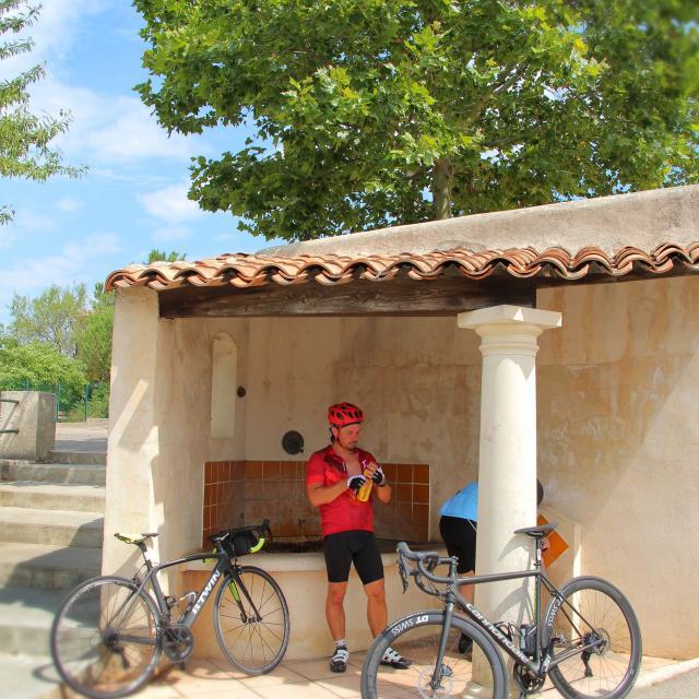 Cyclistes Belcodene Oti Aubagne