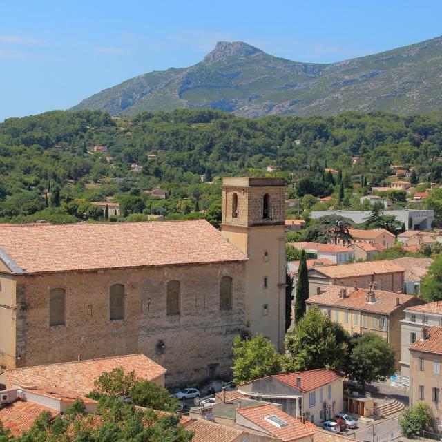 Eglise Collines Roquevaire Oti Aubagne