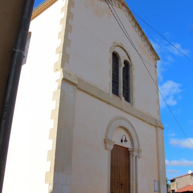 Eglise Facade La Destrousse Oti Aubagne